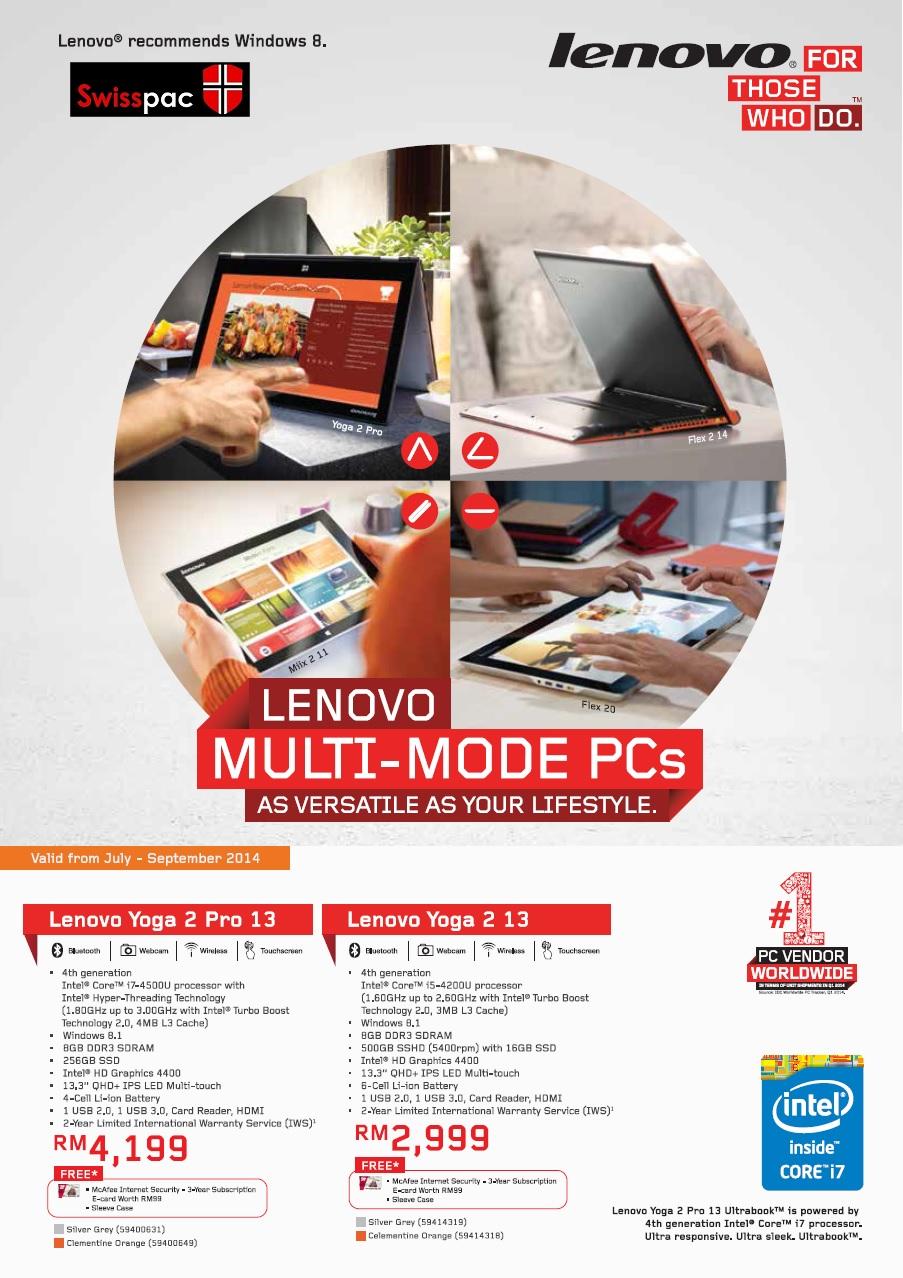 Lenovo Multi mode PC