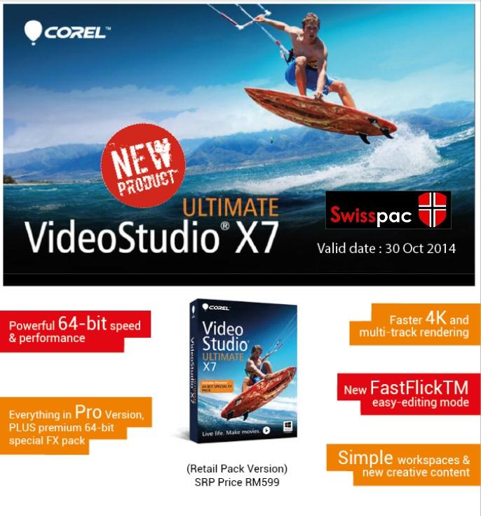 Corel VideoStudio X7