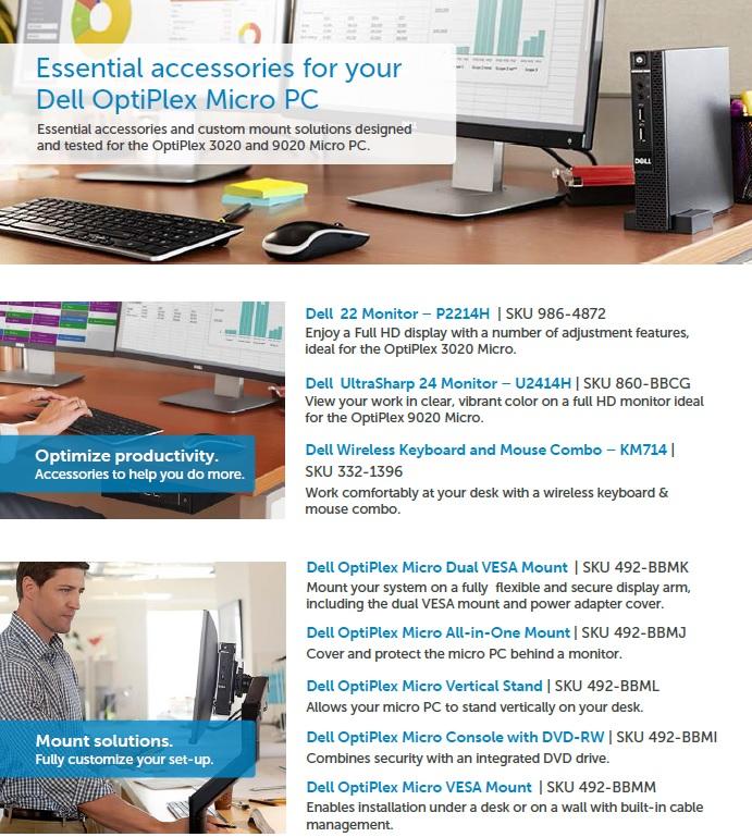 Dell Optiplex Micro PC