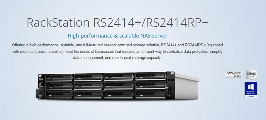 Synology RS2414+